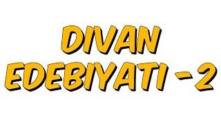 10dk da DIVAN EDEBIYATI-2- Tonguc Akademi, TALHA DOGAN