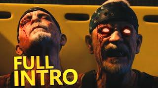 FULL CARRIER INTRO CINEMATIC CUTSCENE! CoD: Advanced Warfare Exo Zombies Story & Easter Egg!