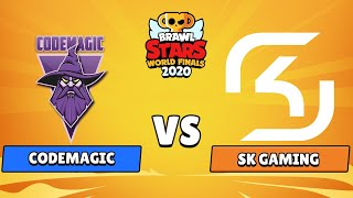 Codemagic vs SK Gaming - Brawl Stars World Finals 2020