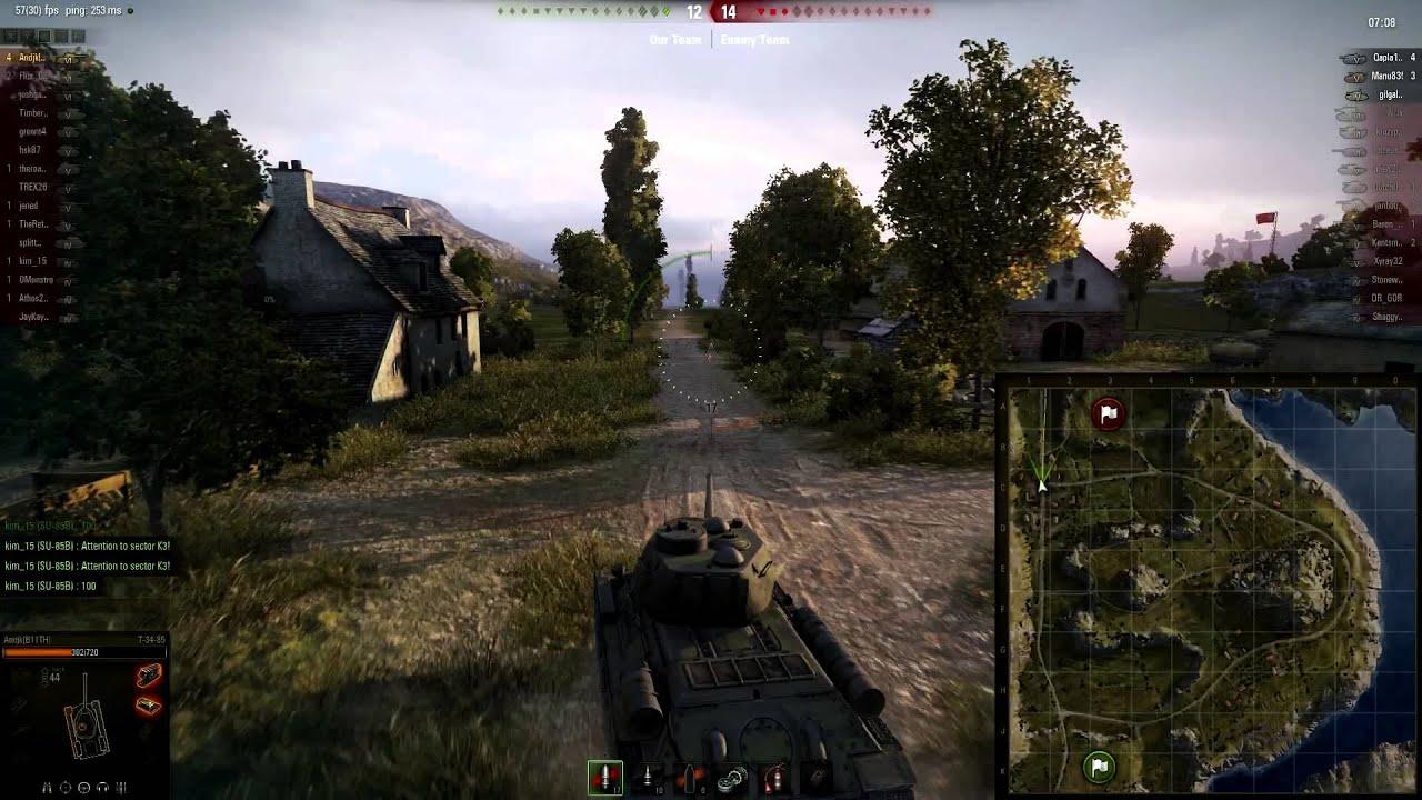 t 34 85 gameplay venice - photo#20