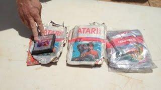 Atari E.T. Landfill Carts Headed to Ebay & Museums - #CUPodcast
