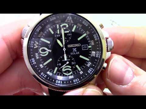 Часы Seiko SSC293P2 - видео обзор от PresidentWatches.Ru