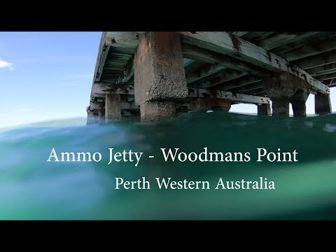 Under The AMMO Jetty - Woodman Point