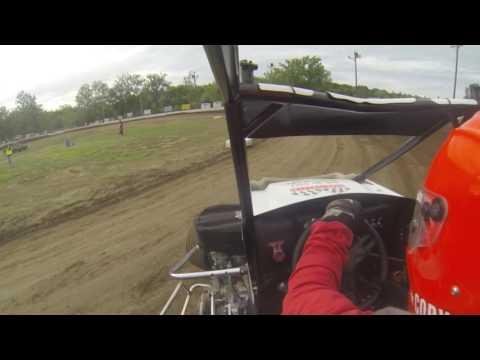 US 24 Speedway Hot Laps In Car Camera