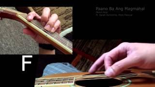 Paano Ba Ang Magmahal Guitar Tutorial
