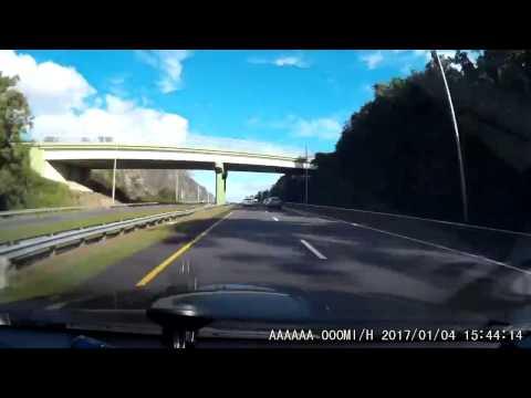 Timelapse Car Dashcam Video from San Juan to Fajardo Puerto Rico