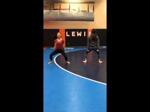 Lewis and Clark High School Cheer (Dance - Part One)