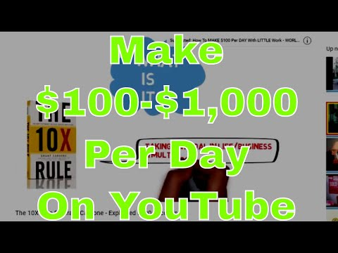 Make Money On YouTube WITHOUT Being On Camera
