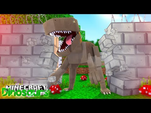 DANGEROUS DINOSAUR ESCAPES! - Minecraft Dinosaurs w/ Little Lizard