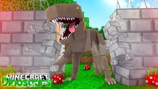 DANGEROUS DINOSAUR ESCAPES! - Minecraft Dinosaurs w/ Little Lizard