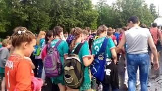 Открытие 15-го фестиваля гандбол в Тольятти