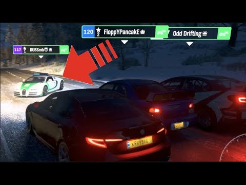 Forza Horizon 4 ONLINE - Dubai Police Stopped Us Street Racing!!   SLAPTrain