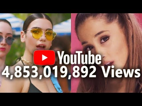 ALL Music Videos With +1 BILLION VIEWS on YouTube (February 2018)