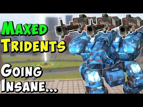 Mk2 Max Trident Fury Going Ultra Godlike - War Robots Gameplay WR