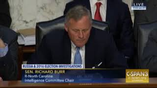 Social Media Executives Testify Senate Intelligence Committee Nov 1 2017