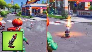 Premier 'NEW' Bottle Rockets Gameplay! Fortnite Bataille Royale