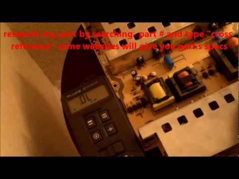 TV REPAIR for Beginners- How to troubleshoot