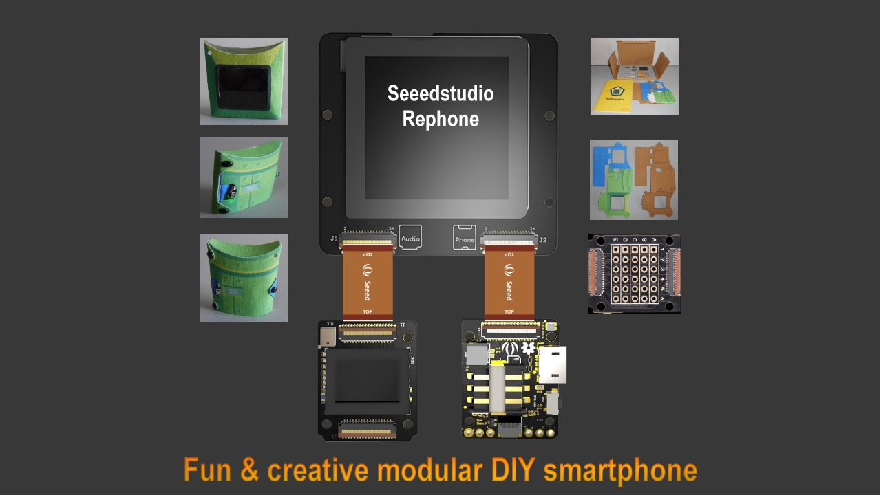 Seeedstudio RePhone: Fun & creative modular DIY sm | Details