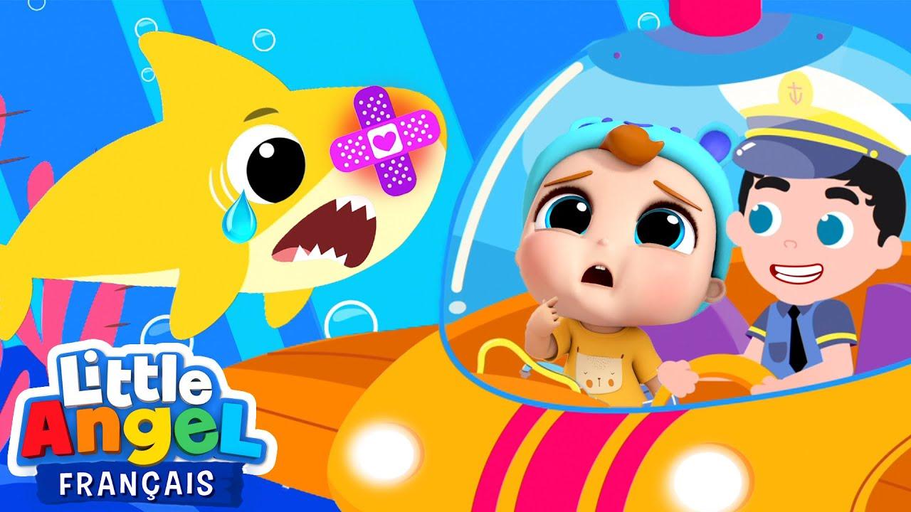 Un bobo pour Bébé Requin | Comptines pour les enfants | Little Angel Français