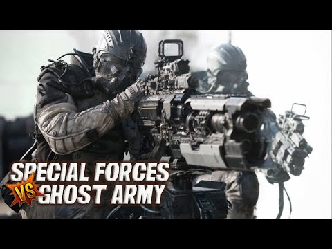 SPECTRAL ARMY attack COMMANDO'S | SPECTRAL...
