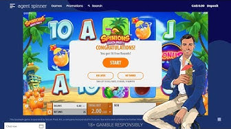 Agent Spinner Casino - Exactly How to Get 100 Bonus Spins on Registration