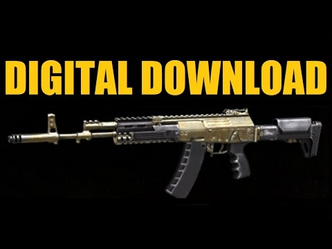 DIGITAL DOWNLOAD - How to get the AK-12G, Crossbow-B2, and EM1 Quantum Day Zero Bonuses (CoD AW)