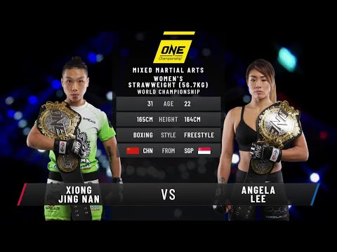 Xiong Jing Nan vs. Angela Lee | Full Fight Replay