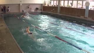 100м плавание - 16 заплыв - Первенство Калужской области по летнему полиатлону