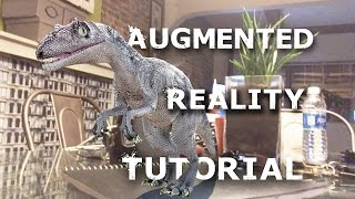 How To MARKERLESS Augmented Reality TUTORIAL with WIKITUDE and SLAM!!
