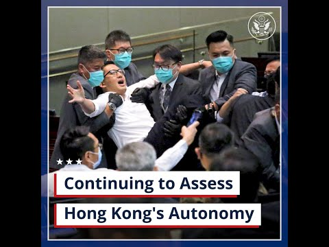 Continuing to Assess Hong Kong's Autonomy