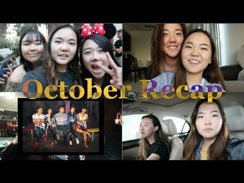 october recap: new apt, halloween shenanigans, karaoke, and much more!!!