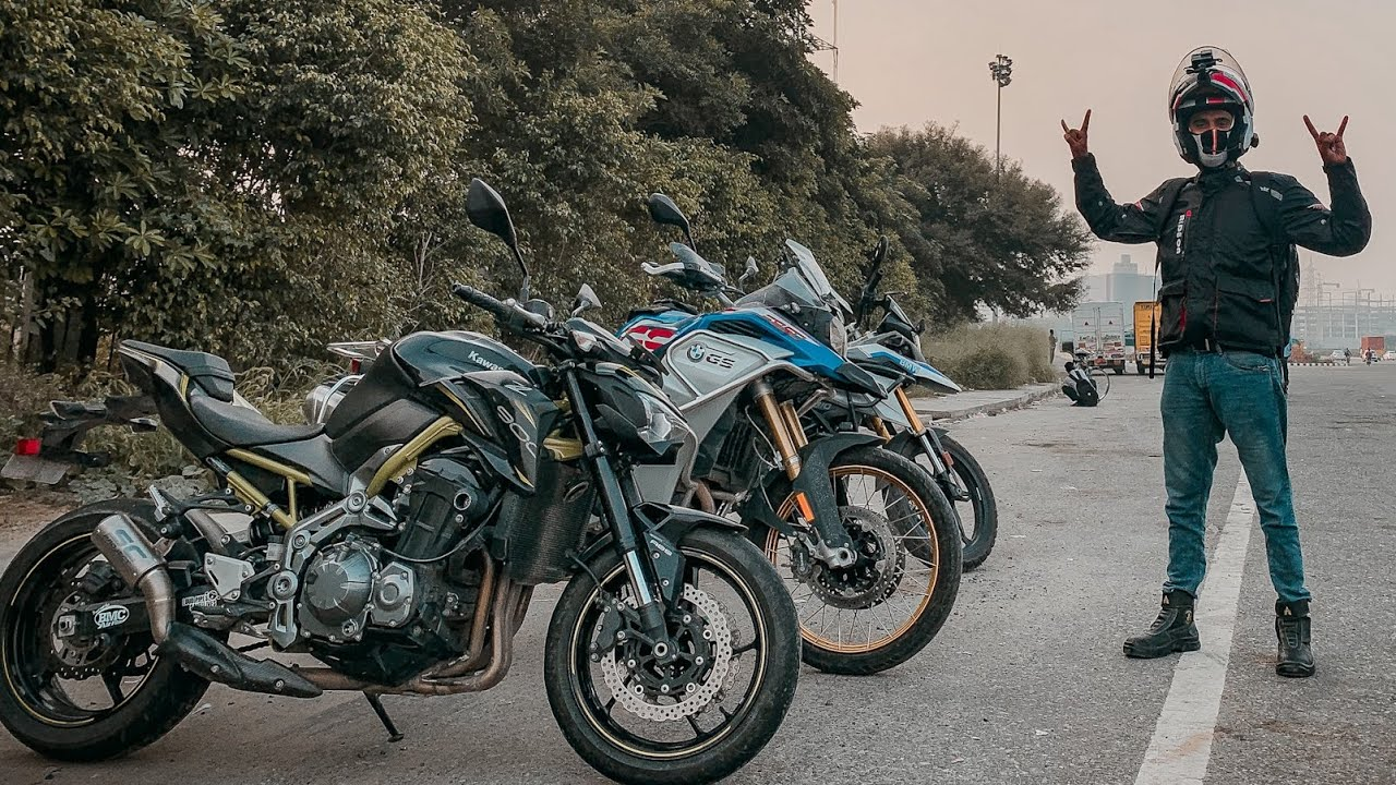 After so Long Sunday Ride on BMW Bike 😍