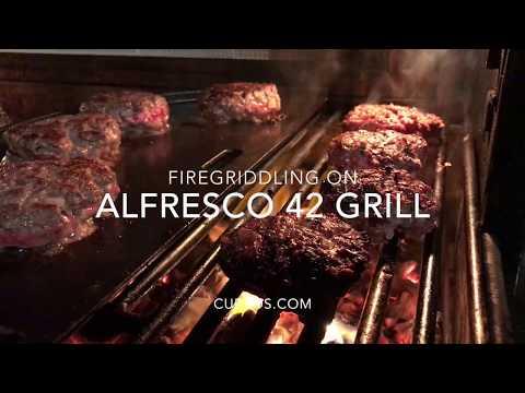 """Best Hamburger! Alfresco Grill """"FireGriddling"""" - Review"""