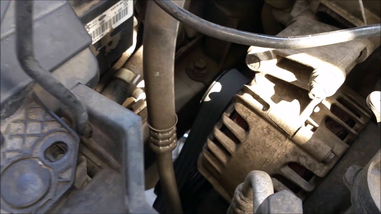 2012 Ford Fiesta SES Serpentine Belt  YouTube