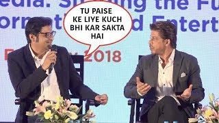 Arnab Goswami Insults Shah Rukh Khan Publicly, SRK