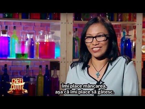 """O filipineză îndrăgostită de România a dat lovitura! A gătit """"Tinelog de broască cu orez"""""""