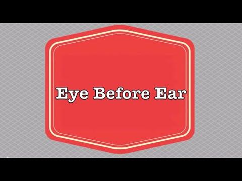 Episode 5: Eye Before Ear