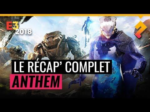 Anthem -  Date de sortie, activités, classes, loot & plus (E3 2018)