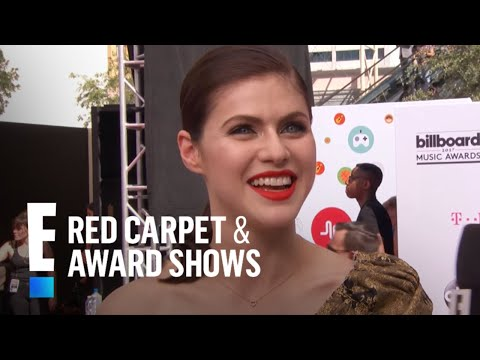 Alexandra Daddario on Rumors She's Dating Zac Efron | E! Live from the Red Carpet
