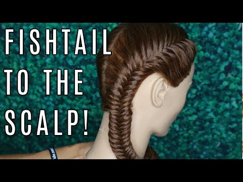 How To Do A Fishtail Braid On The Scalp