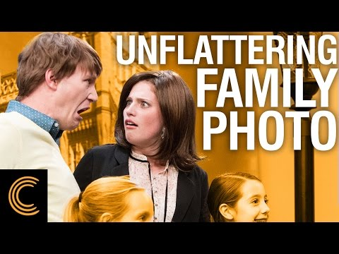 Unflattering Family Photo