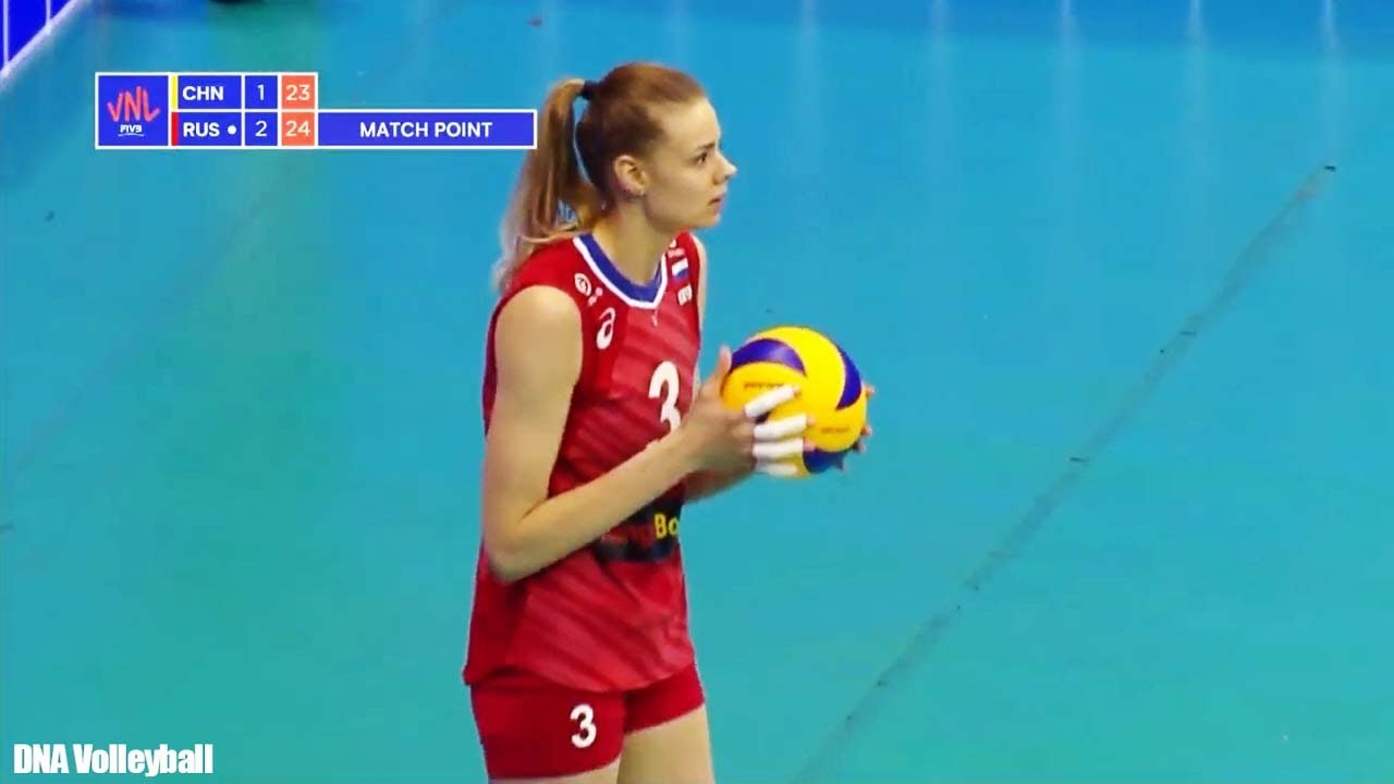 เอฟิโมว่า สัปดาห์แรก เนชันส์ลีก 2019 Ekaterina Efimova (Ефимова) volleyball nations league week 1