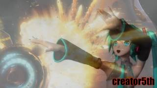 sonic and miku - (vocaloid and sega) Caramelldansen - English Version - HD