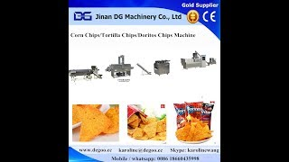 Tortilla Chips / Nachos Chips / Corn Chips / Triangle Chips Extruder Machine Production Line