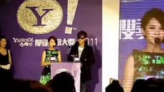 20111214 Yahoo Buzz Asia 2011 Awards Rainie 楊丞琳 & Show 罗志祥