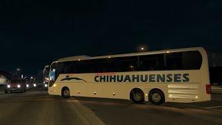 American Truck Simulator | Autobús Man destino Cabo San Lucas
