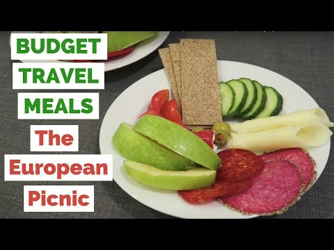 Do It Yourself Budget Meal in Europe | Indoor Picnic in our Apartment in Budapest, Hungary
