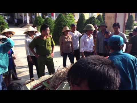 sự phẫn nộ của nhân dân xã Quảng phúc Huyện Quảng Xương