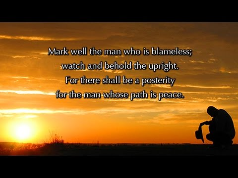Psalm 37, Wait Patiently (a new musical setting)