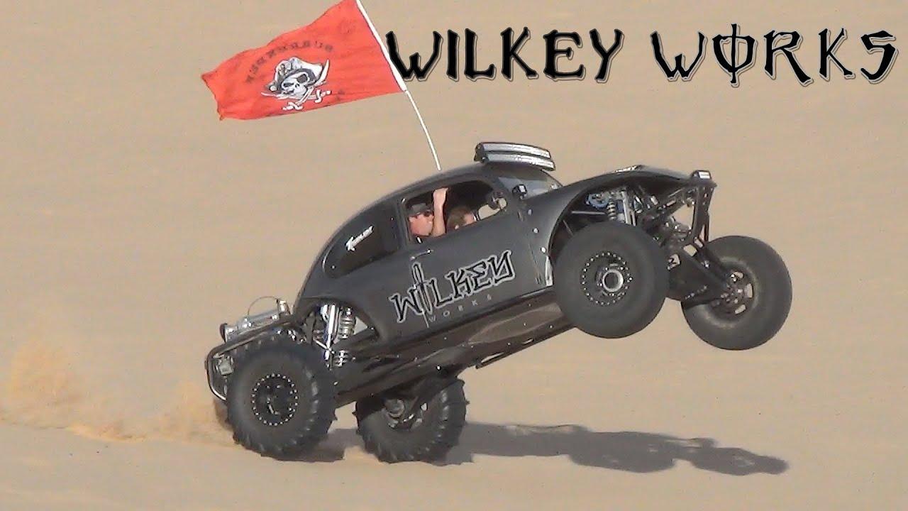 Vw Dune Buggy >> Wilkey Works Hucking Glamis - YouTube